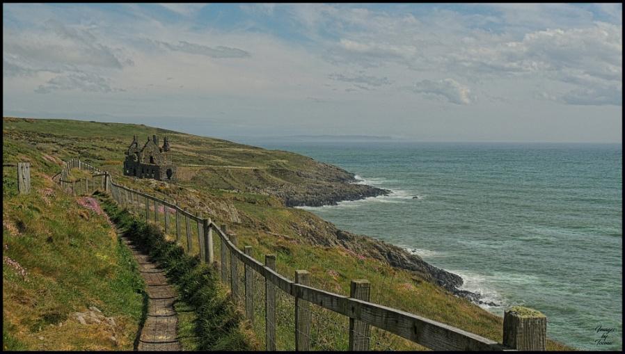 The South Cliffs: Portpatrick.