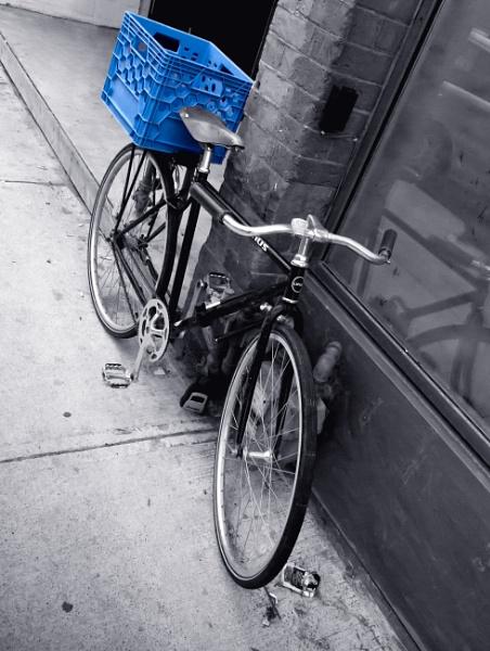 Blue Basket by FotoDen