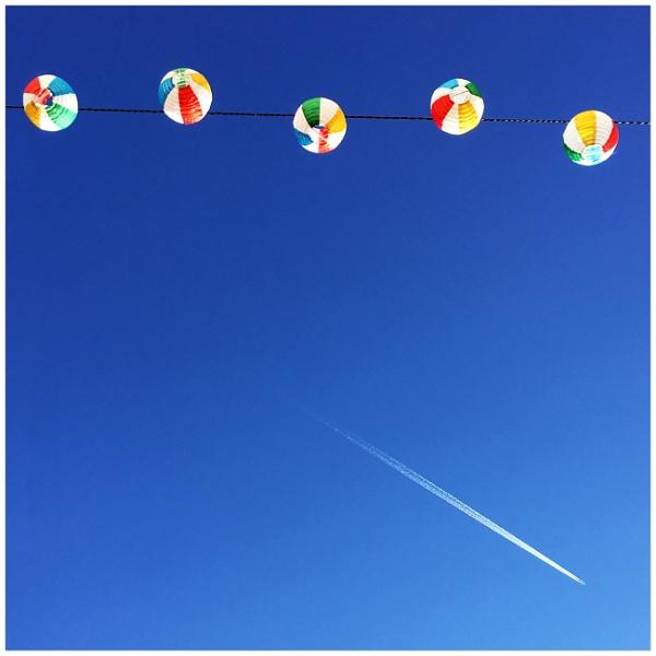 Not a single cloud in the sky by bliba