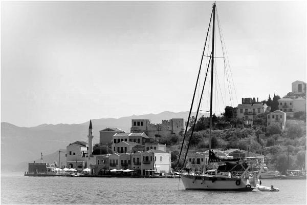 Greece in Mono 12 by lifesnapper