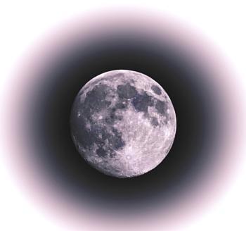 Pink super moon tonight