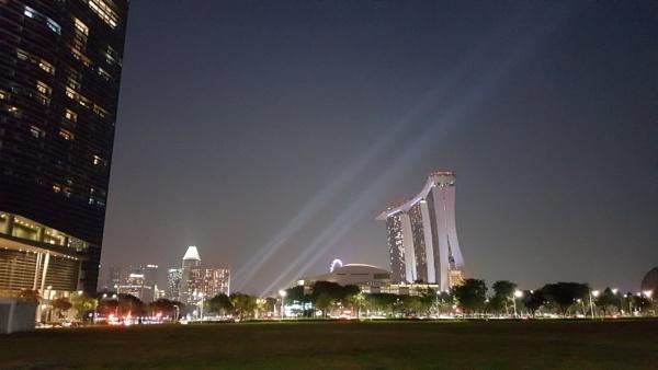 Marina Bay Sands by davek