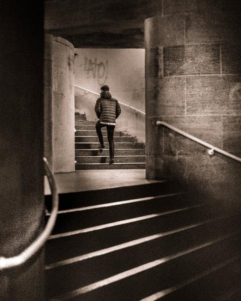 Concrete Stairways by true