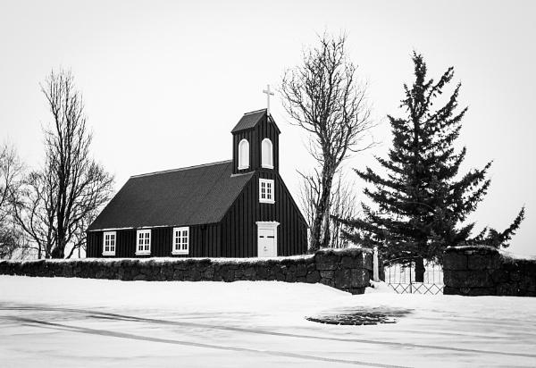 Church in Iceland by pdunstan_Greymoon