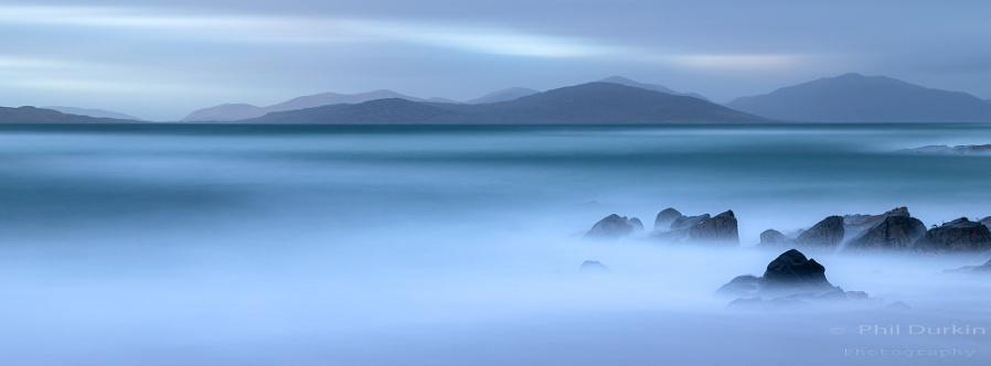 Blue Hour at  Borve - Isle Of Harris & Lewis