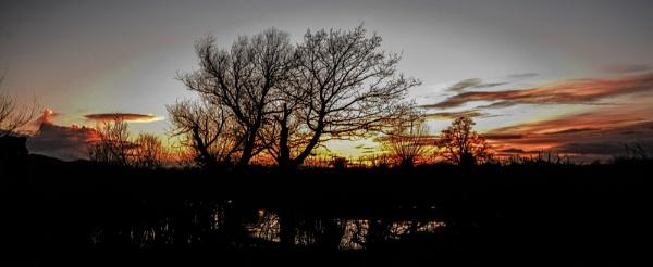 Sunset by woodini254
