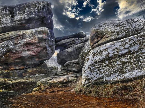Brimham Rocks, Yorkshire by BiffoClick