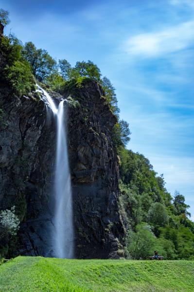 Swiss Waterfall by Catest79