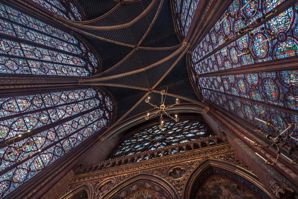 Sainte-Chapelle by chowe328