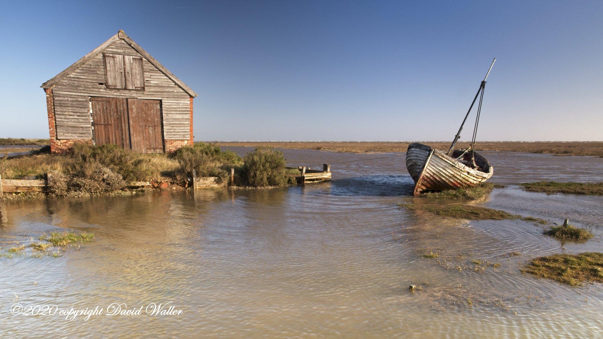 Thorham Boat shed