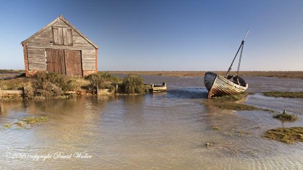 Thorham Boat shed by Dwaller
