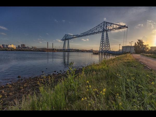 Transporter Bridge by stevenb