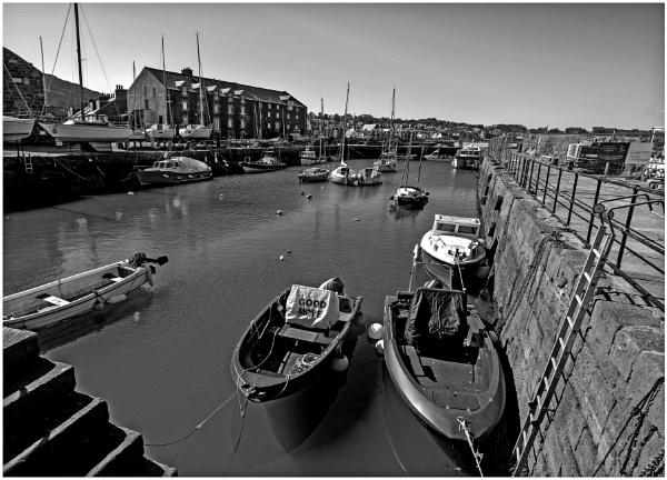Berwick Harbour During Lockdown by mac