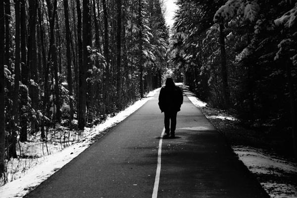 A lone walk by djh698