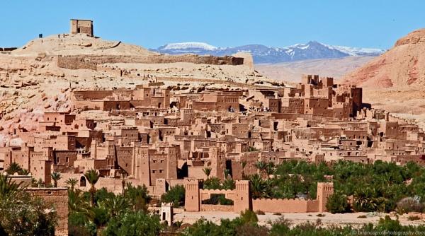 Ait Benhaddou Ksar, Morocco by brian17302
