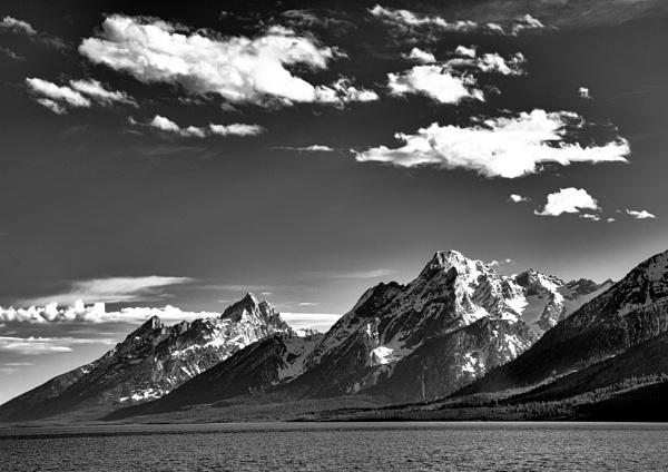 Teton Range, Wyoming by BiffoClick