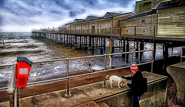Paignton Pier by starckimages
