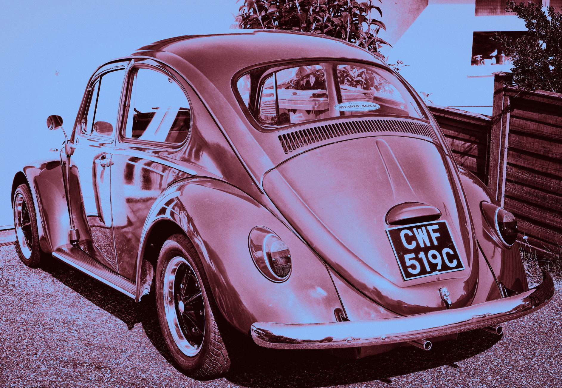 Pristine 1965 Beetle