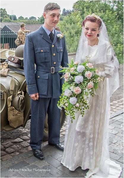 Untitled1940s  Wedding. by Adrian57