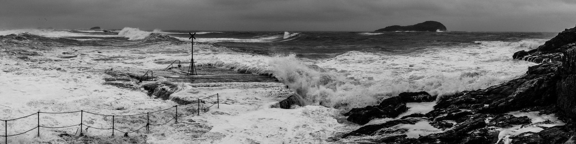 Stormy Seas, North Berwick, East Lothian