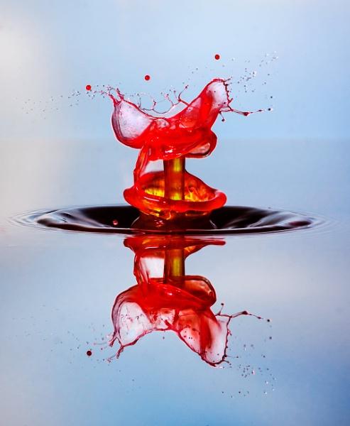 Water Drop Art 2005011 by Deep_Bhatia