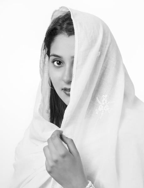 Vailed Beauty by Deep_Bhatia