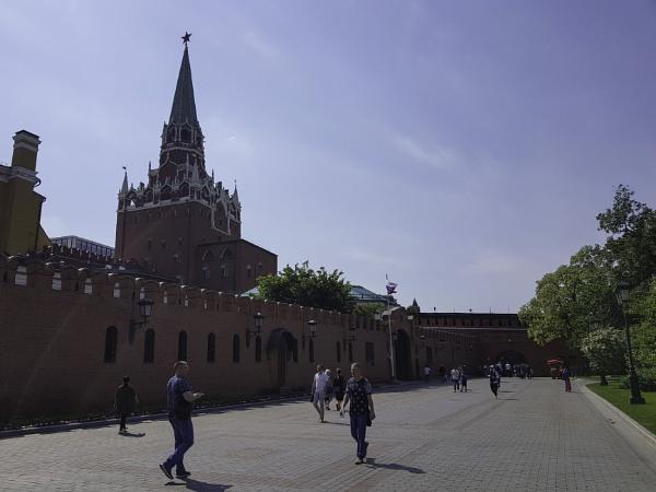 Inside the Kremlin Walls by nellacphoto