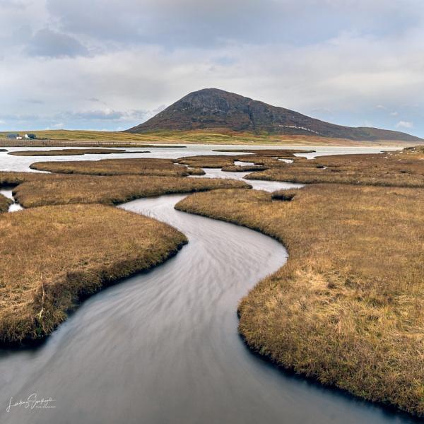 Northton Saltings, Isle of Harris by LLCJ