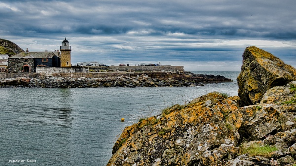 Lighthouse and Harbour Entrance. by Tooma