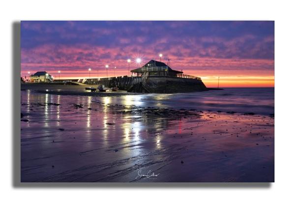 Viking Bay Sunrise by sidcollins