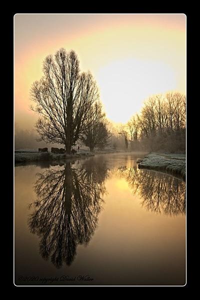 early morning glow by Dwaller