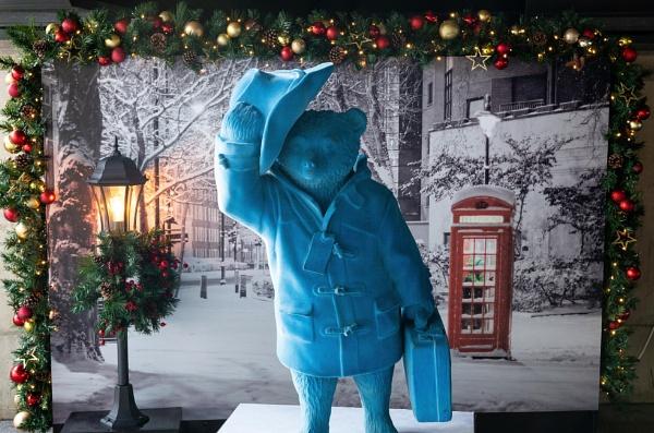 "Paddington \""Blue\"" Bear by AJG"