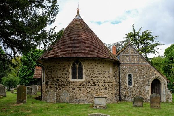 Little Braxted church Essex UK by bluetitblue