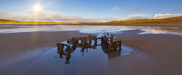 Machir Bay Wreck by pink