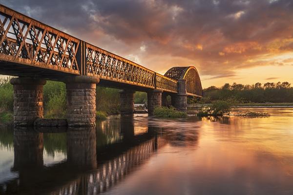 Sunset bridge by Dallachy