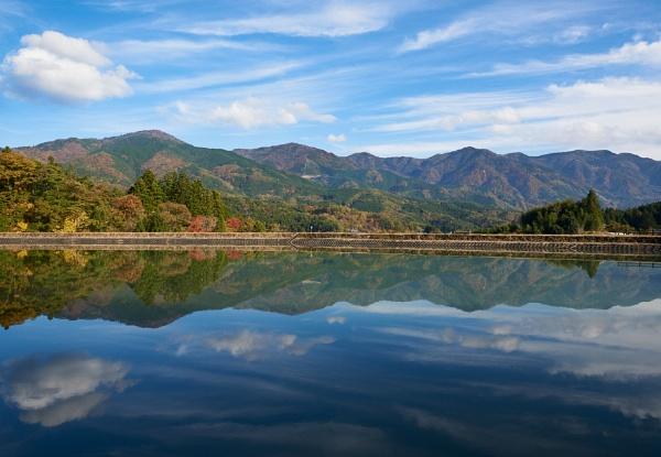 Reservoir Outside Magome by hobbs