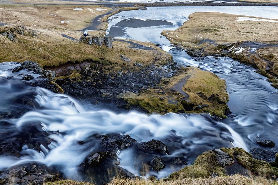 Kirkjufell river & falls..