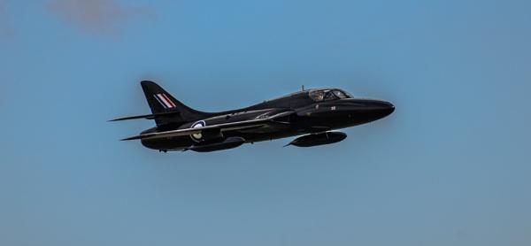 Hawker Hunter In Flight 01 by woodini254