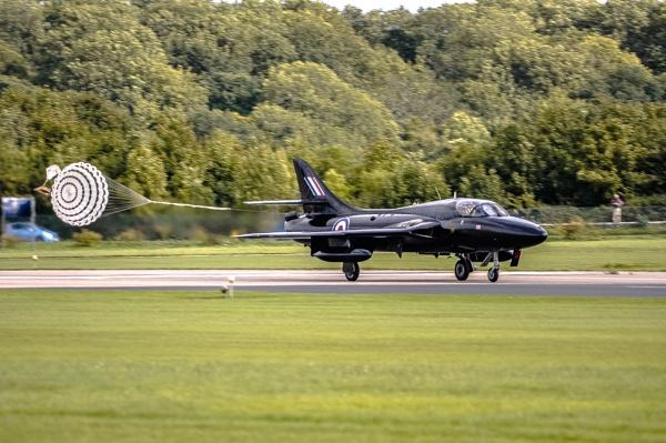 Hawker Hunter Landing 01 by woodini254