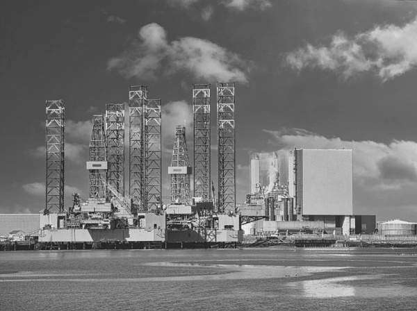 Hartlepool Power Station and Able Dock by DaveRyder