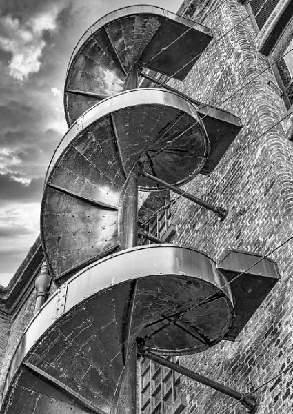 Warehouse Chute, Liverpool by BiffoClick