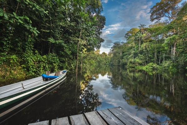 Cuyabeno river pontoon & canoe by macxymum
