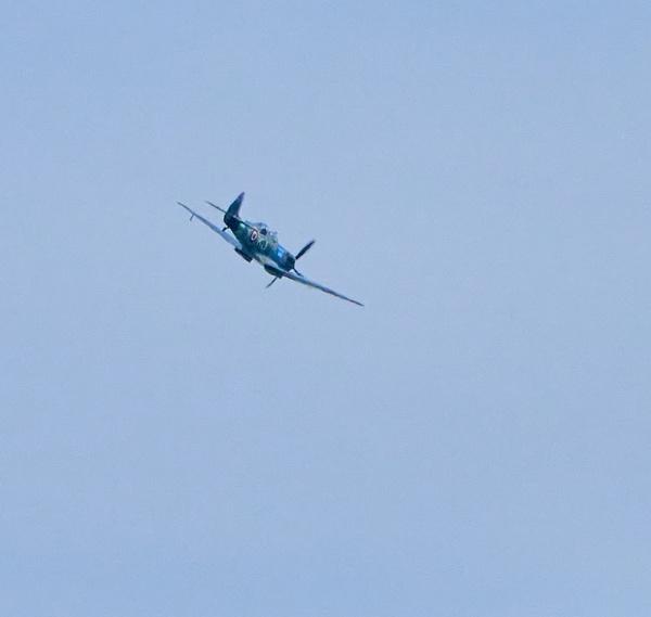 Spitfire Flypast by JJGEE