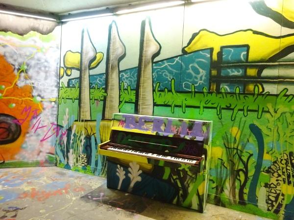 Underground art by Kabrielle