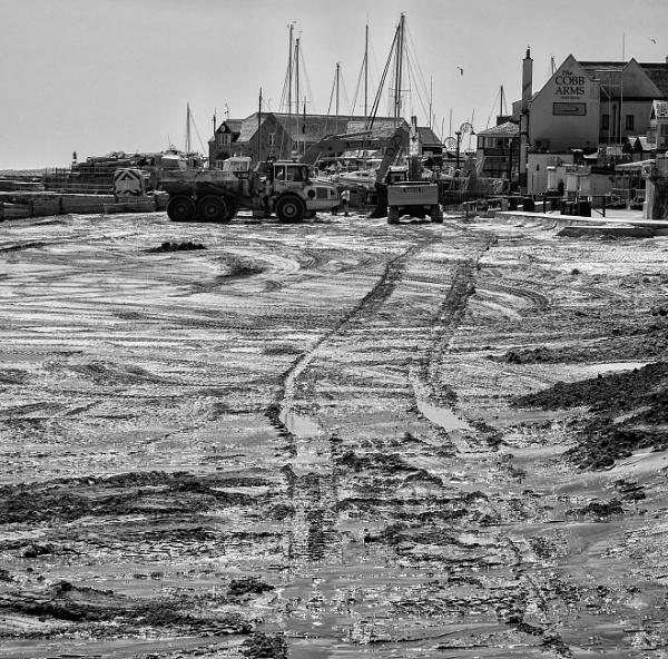 Giant Tonka Tracks - Lyme Regis by starckimages
