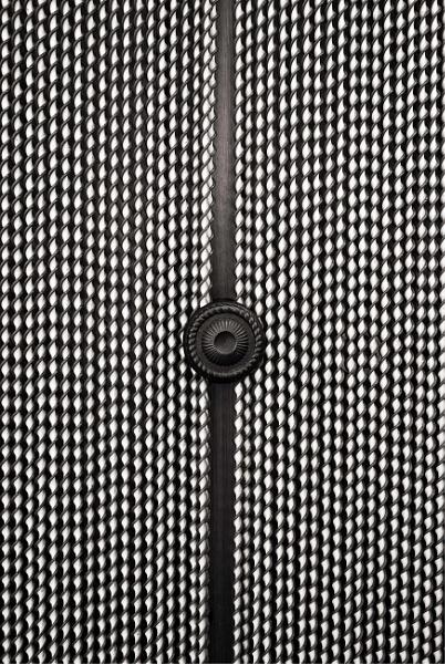 Door with beads by KingBee