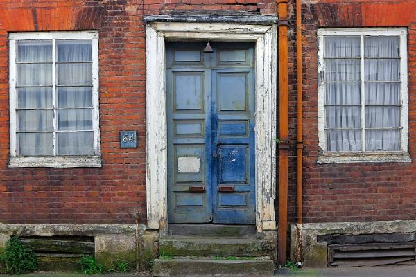 Old Blue Door by minelab