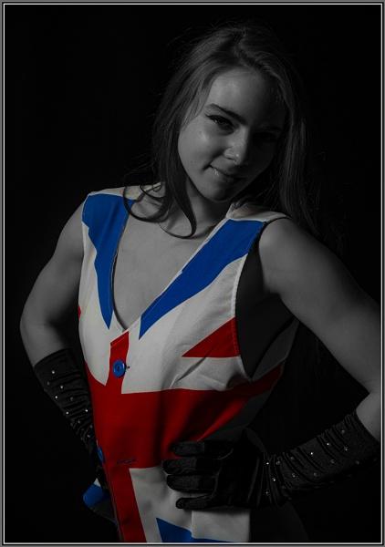 Union Jack waistcoat by ugly