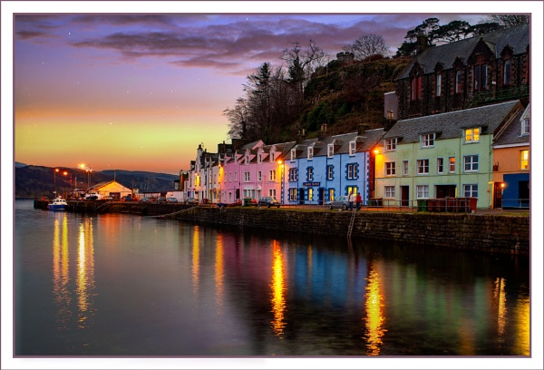 Portree Harbour by tonyheps