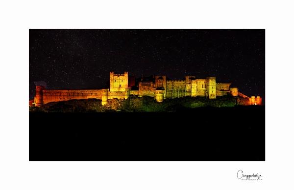 Bamburgh at night by craggwildlifephotography
